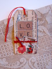 Valentine Tag LOVE