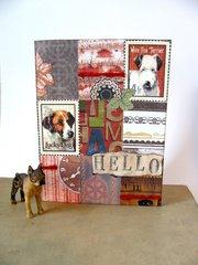 Dog Collage Card