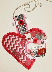 Woven Heart Treat Container