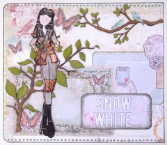 Once Upon a Time Art Journal - Snow White 1