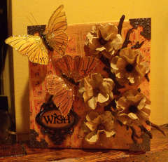 Altered art canvas