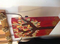 Mixed media tree