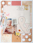 6 Months & Crawling {Studio Calico Autumn Press}