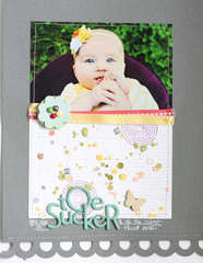 Toe Sucker {Studio Calico Memoir Collection}