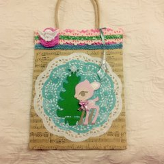 2nd fawn gift bag