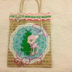Fawn gift bag