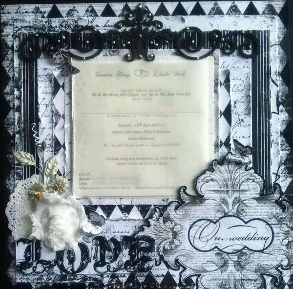 Layout: Wedding Invitation Card Layout