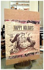 Santa! Christmas Card.
