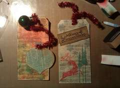 Christmas Tags/Cards!