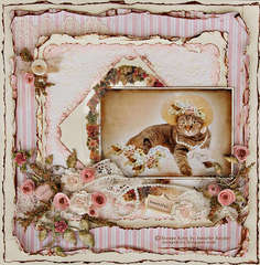 Escape Kitty - In My Easter Bonnet - Scraps Of Elegance April Awakening