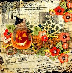 Escape Kitty's Halloween - Flying unicorns