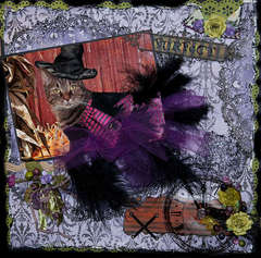 Escape Kitty -Purfect Witch -Scraps Of Darkness
