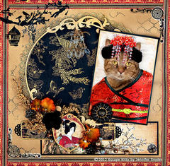 Escape Kitty - Geisha Kitty -Scraps Of Darkness