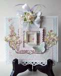 Shabby Chic Card     (Ivana) card kit from TCM