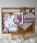 Love  (treasures of the heart) card