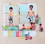 Simple Stories I Heart Summer - Allison Davis Sketch
