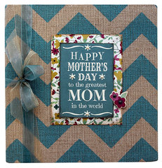 Hey Mom Burlap Sn@p! Binder