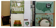 Travel SN@P! Binder
