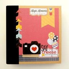 Simple Stories Say Cheese SN@P! Binder Class Kit