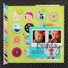 Birthday by Kelly Goree