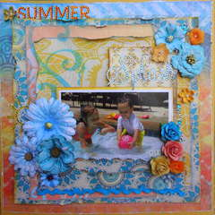 Summer Splash~~Scraps of Darkness~~Jamaican Sunset