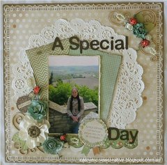 A Special Day ~ Kaisercraft Take Note Collection ~