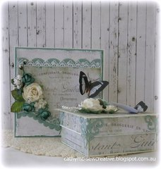 Box and Card ~ Meg's Garden~