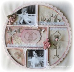 Kaisercraft ~Scallop Photo Display~
