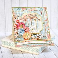 Cheerful Forties *DT Craft4You*
