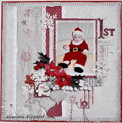 1st Christmas *DT Maja Design*