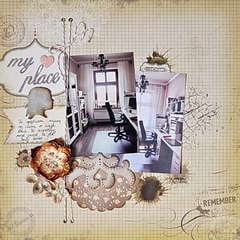 My Place *DT Craft4You*