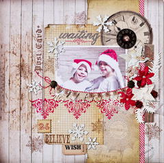 Waiting For Santa *DT Craft4You*