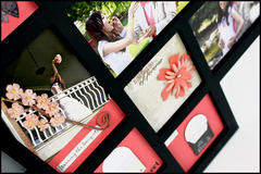 Abstract photo frame