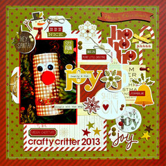Crafty Critter 2013 *Simple Stories Cozy Christmas*