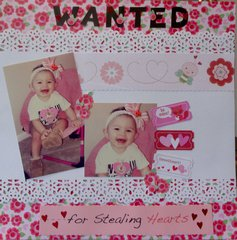 wanted for stealing hearts