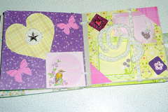 my spring mini-book 6 by 6