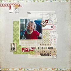That Face Framed