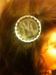 Bottlecap hair accesory