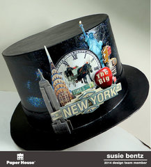 New Year's Eve party Hat **Paper House**