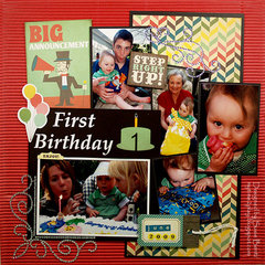 First Birthday  *Want2Scrap*