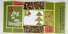 Christmas Tri Shutter Card *Want2Scrap*