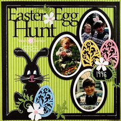 Easter Egg Hunt  **Want2Scrap**