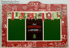 Printer's Tray Christmas Album - Page 3