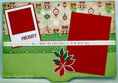 Printer's Tray Christmas Album - Page 2