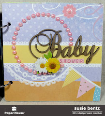 Baby Shower Mini-Album *Paper House*  *Want2Scrap*