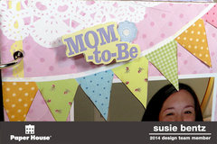 Baby Shower Mini-Album *Paper House*  *Want2Scrap*