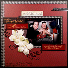 Timeless Memories Wedding layout **Quick Quotes**