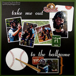 Take Me Out to the Ballgame  **Paper House**Want2Scrap**