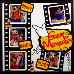 Disney Great Memories  **Want2Scrap**