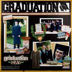 Graduation  **Want2Scrap**Paper House**